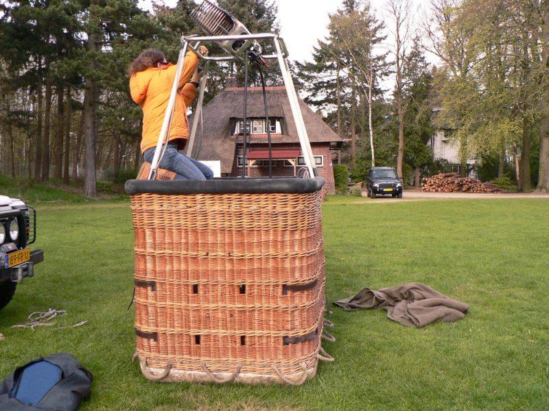 Dutch Biz Amersfoort ballonvaren outdoor activiteit Dutch Ballooning luchtballon