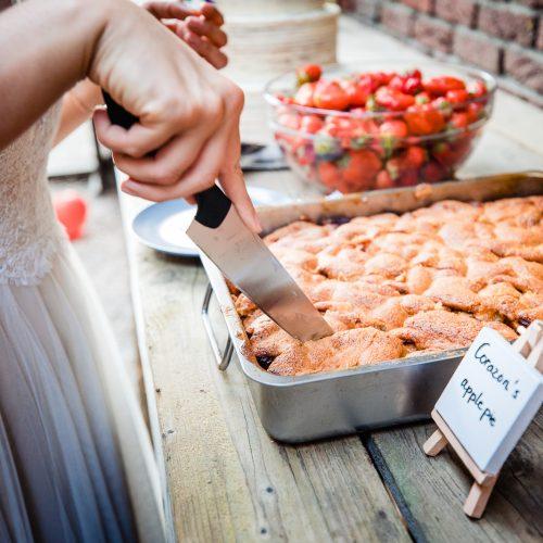 Gezonde appeltaart bruiloft
