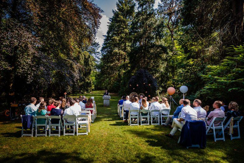 Dutch Biz Amersfoort ceremonie bruiloft buiten trouwen sprookje droom