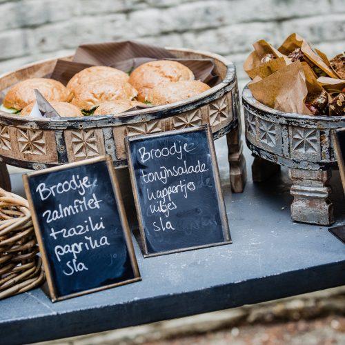 Gezond belegde broodjes