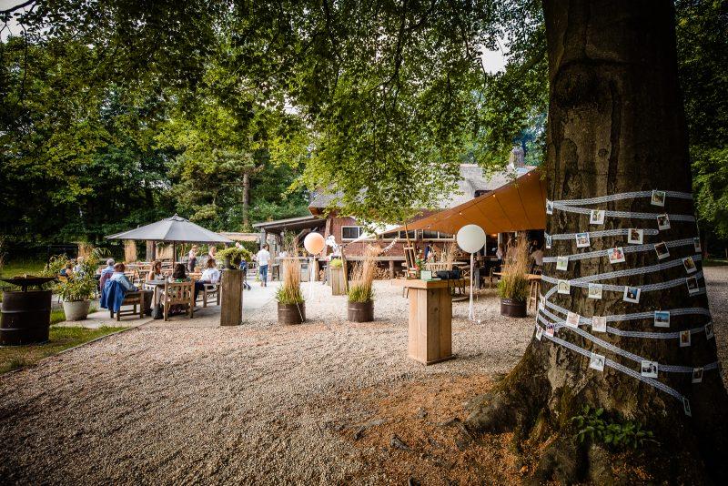 Dutch Biz Amersfoort terras zon ontspannen genieten prive bruiloft trouwen locatie borrel feest
