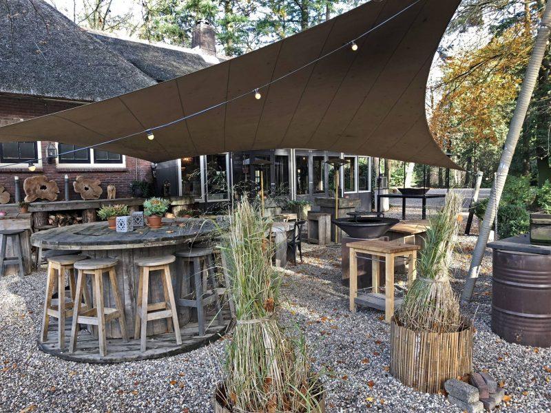 terras borrel BBQ buiten koken diner Dutch Biz Amersfoort