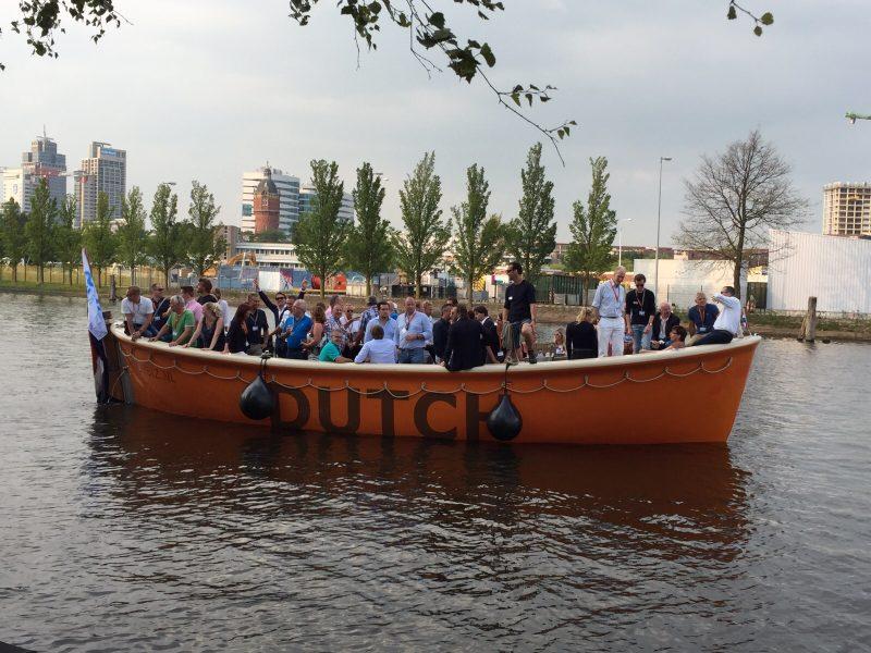 Dutch Biz Boottocht zakelijk particulier evenement op het water